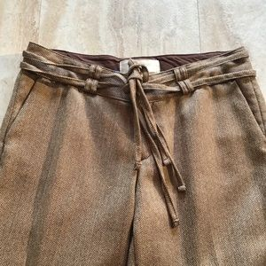 Old Navy Low Waist Career Pants Wool Blend Lined 8